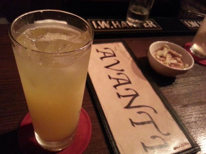 avanti アルコール