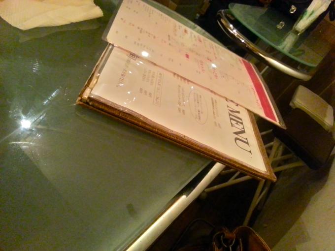 どろぶね テーブル