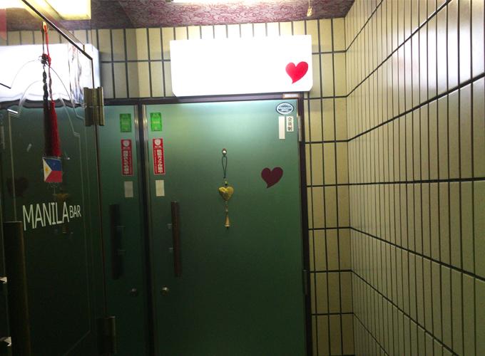 ビアンバー heart ドア