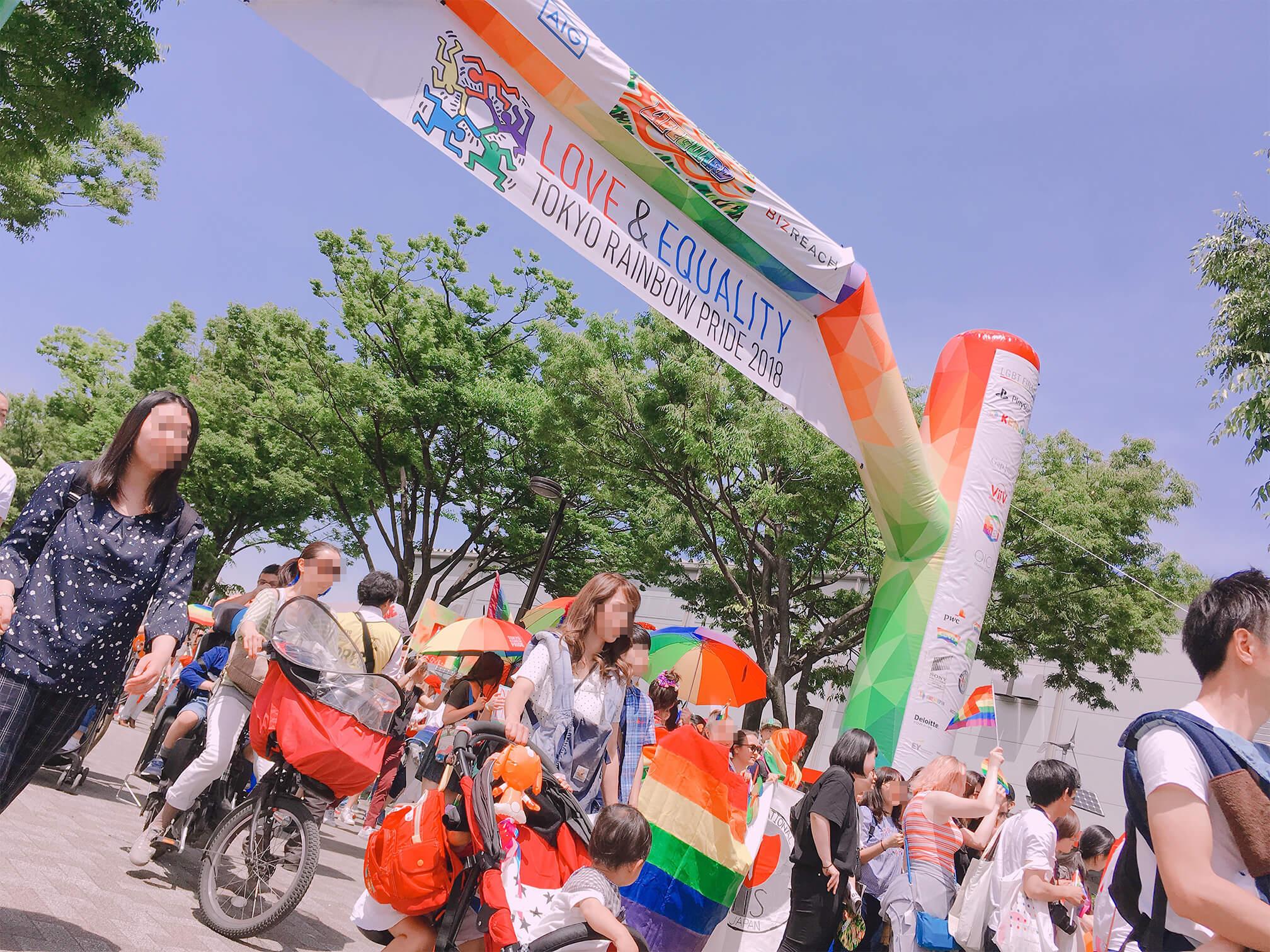 レインボー パレード