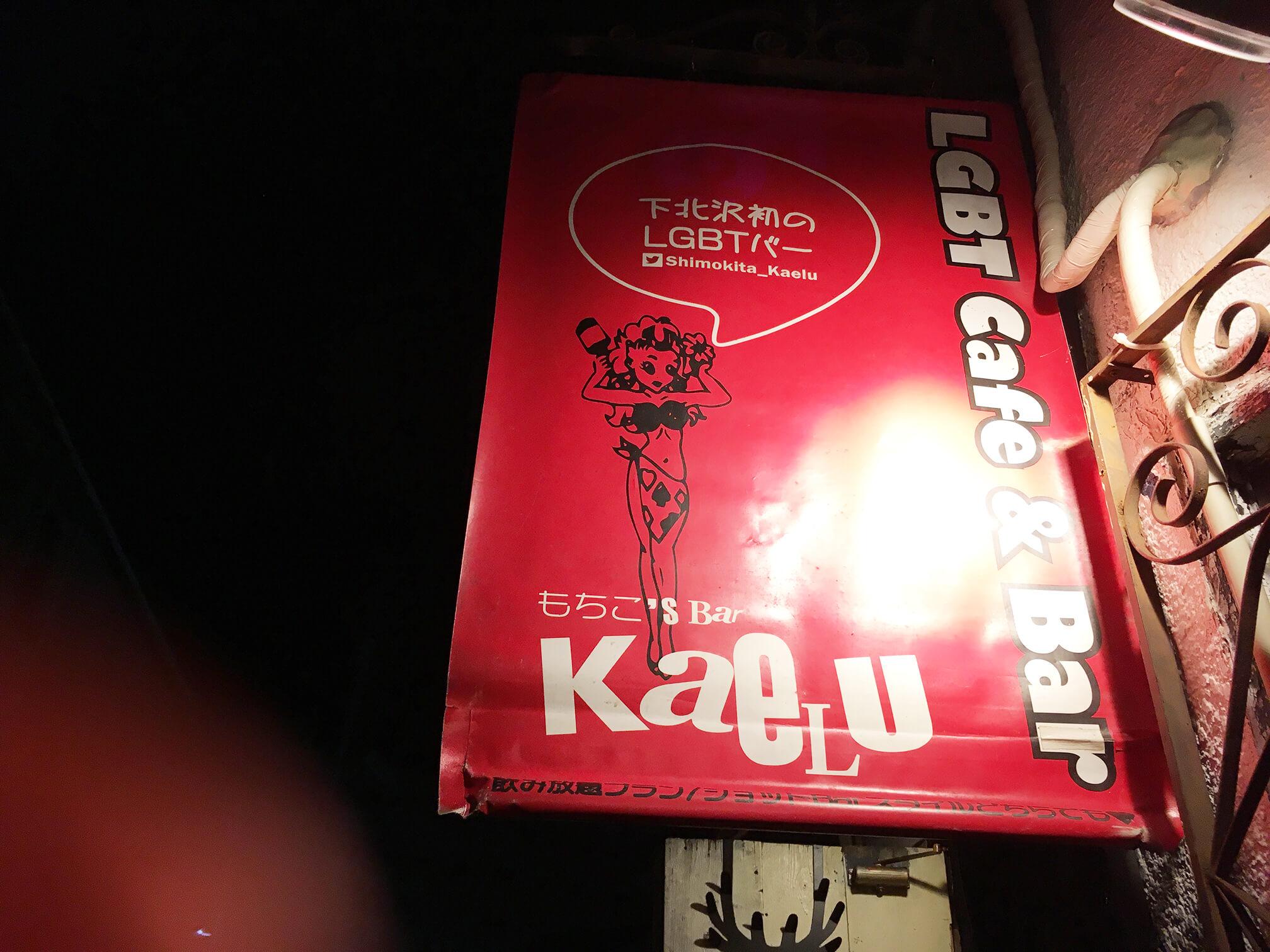 下北沢のLGBTカフェ&バーに行ってみた【もちこ's Bar】