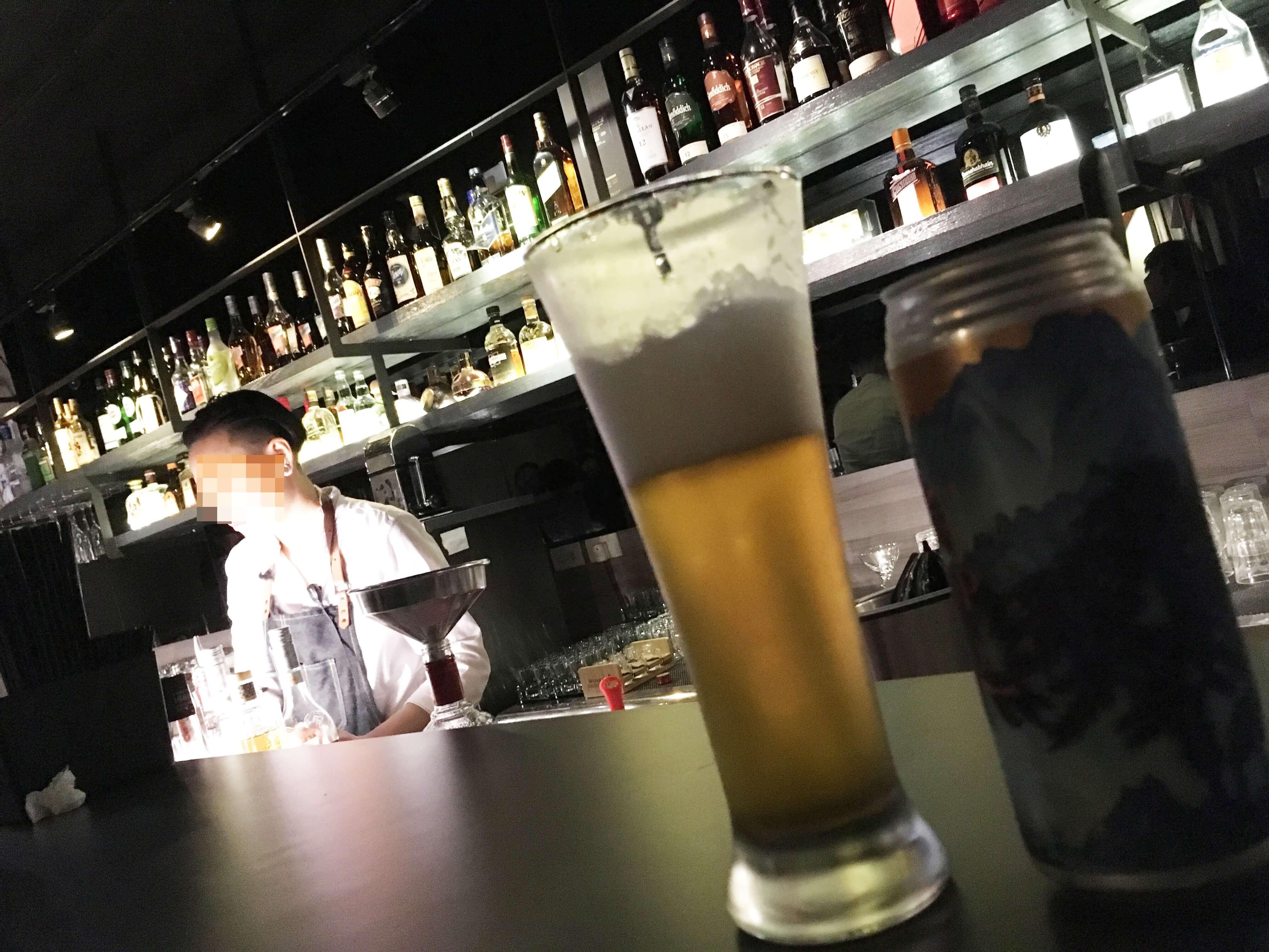 台湾Wonder Bar 雰囲気
