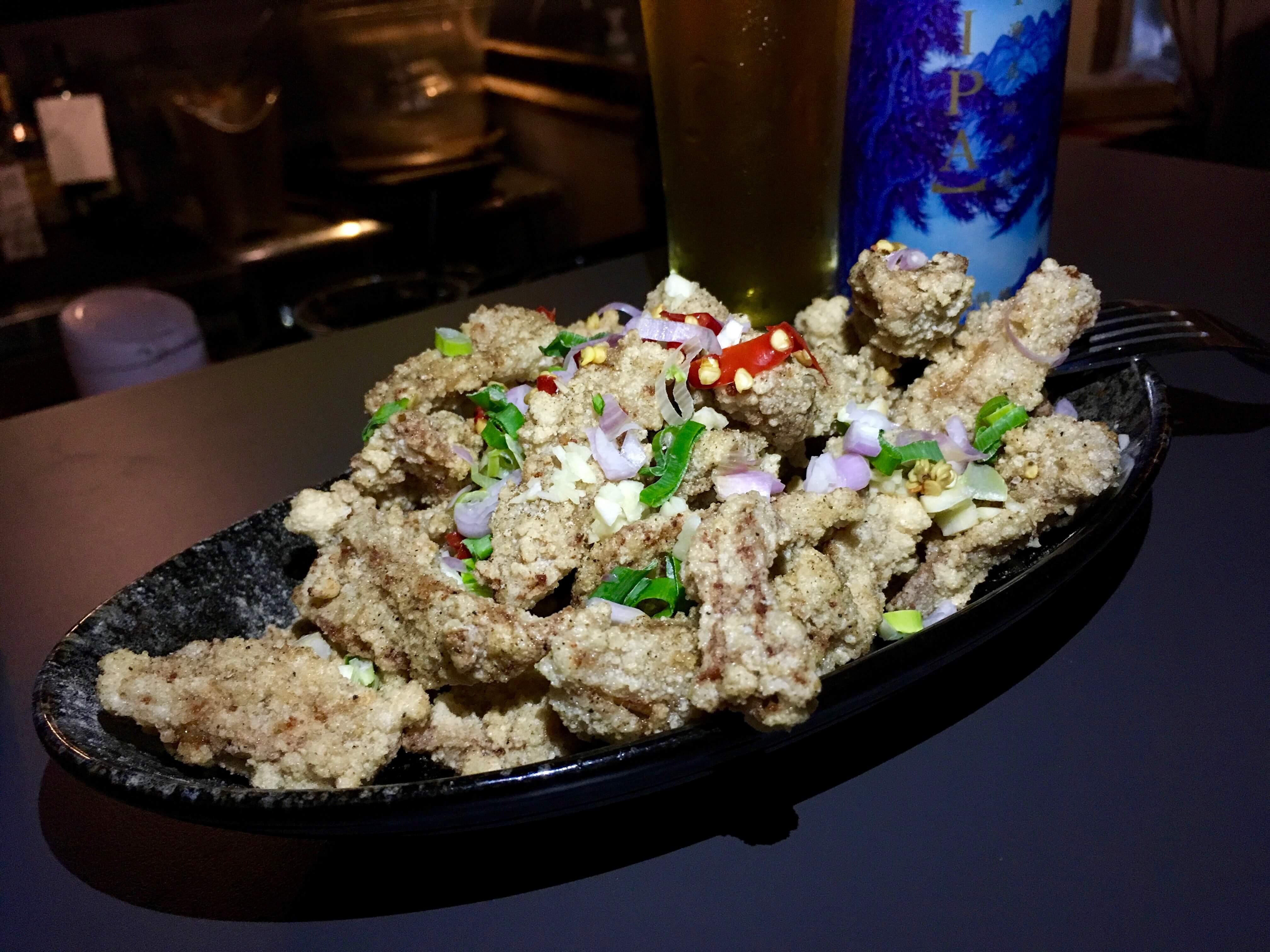台湾Wonder Bar 食べ物