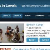 hanaso news in levels