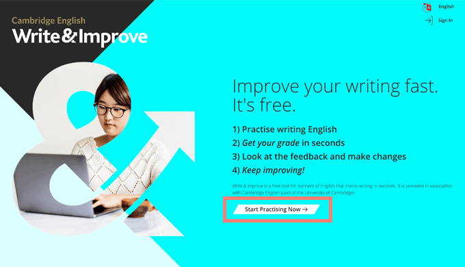 write and improve 無料体験